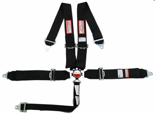 BLACK SAFETY HARNESS 5 POINT 3