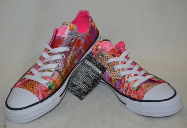 Converse All Star Women's CT OX Digital Floral White/Mult Sneaker - Size 7 NWOB