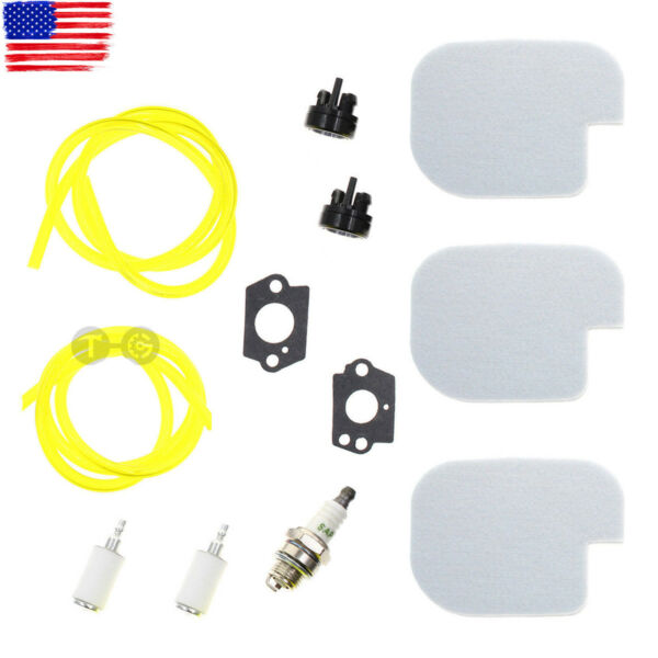 Tune Up Air Filter Fuel Line Kit For Poulan P3816 P4018 P4018WM P4018WT P4018WTL