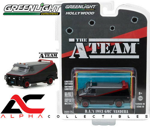 GREENLIGHT 44790-B 1:64 B.A.'S 1983 GMC VANDURA VAN THE A-TEAM