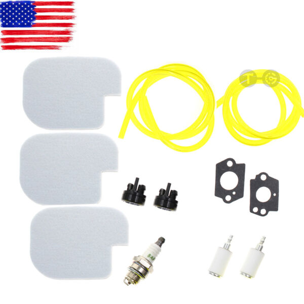 Tune Up Air Filter Fuel Line Kit For Poulan PP3416 PP3516 PP3816 PP4018 PP4218