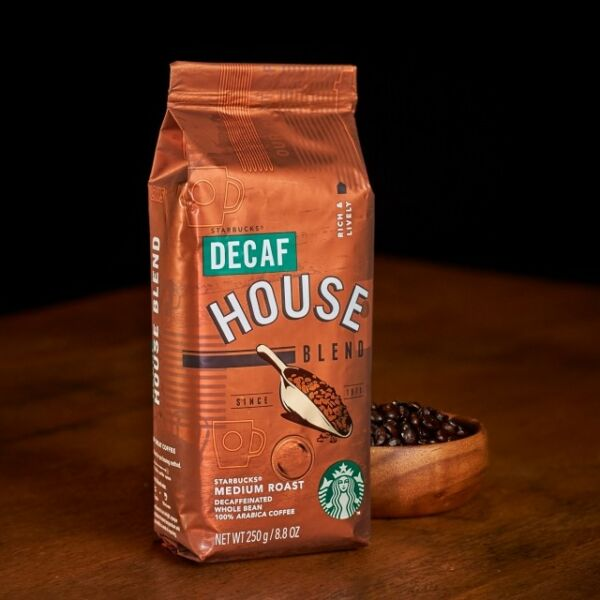 Starbucks japan coffee DECAF  House Blend Whole Bean (250g)