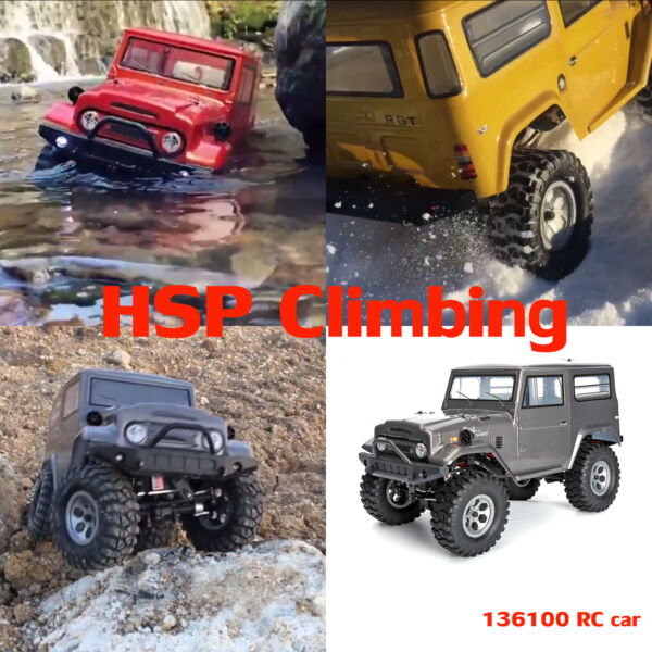 NEW 1/10 Scale 4wd RGT Racing Off Road Rock Crawler Climbing Remote Control Car
