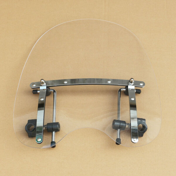 19quot; Clear Windshield Windscreen For Honda Magna Shadow Spirit Sabre 600 750 1100