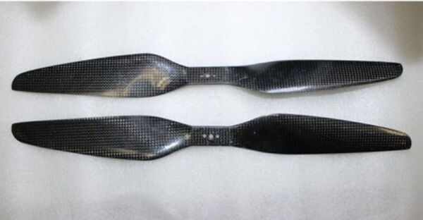 New 17x5.5 3K Carbon Fiber Propeller CW CCW 1755 Prop For Drone Multicopter