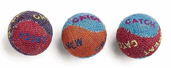 Ethical Products Spot Colored Burlap Balls 3pk Free Shipping