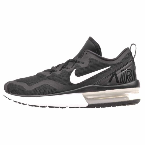 Nike Women's Air Max Fury Running Shoes Black White AA5740 001 Multiple Sizes