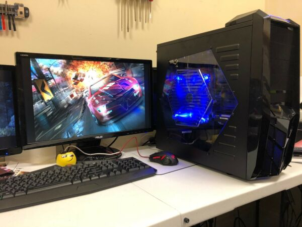 Custom Built Fast Gaming Desktop PC intel i3 7100 3.9 GHz GTX 1050 1TB Fortnite