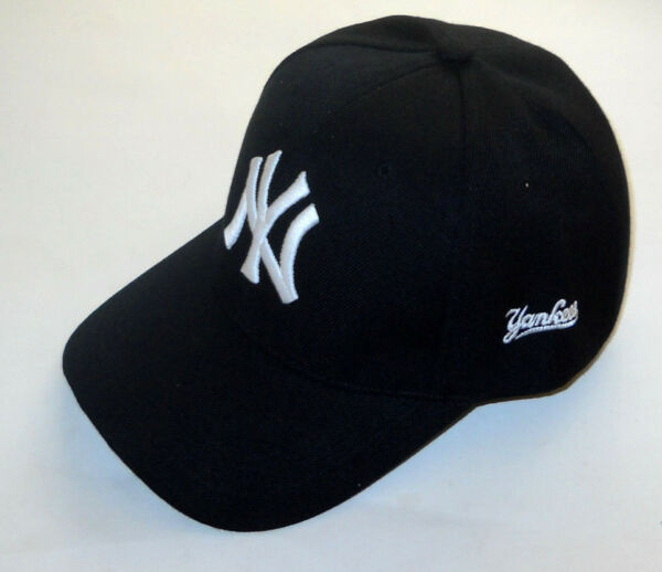 New York Yankees Cap Hat One Size New! (Black)