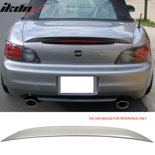 Fits 00 09 S2000 AP1 AP2 OE Factory Trunk Spoiler Painted #NH630M Silver Stone $81.99