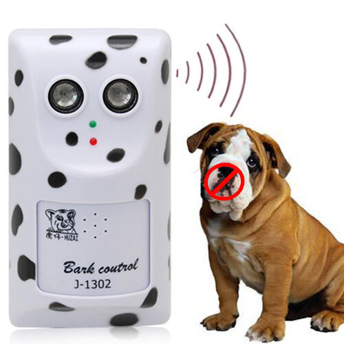 The New Ultrasonic Anti Stop Barking Wall Mount Dog Control Trainer Hot $22.66
