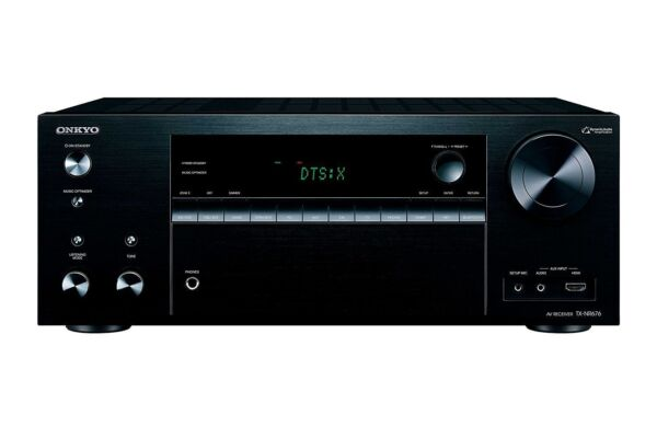 Onkyo TX-NR676 7.2 Channel Bluetooth Network Audio Video Receiver