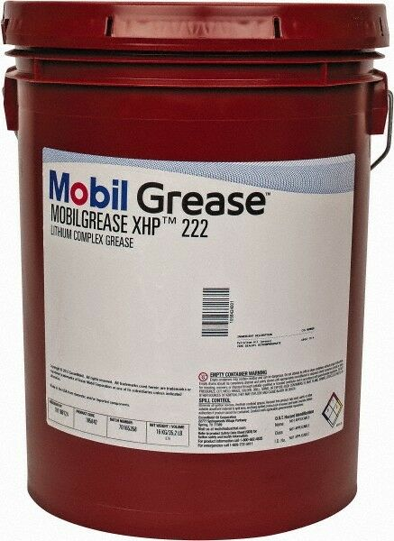 Mobil 35.2 Lb Pail High Temperature Automotive Grease Lithium Dark Blue