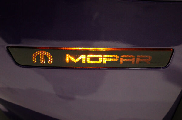 Vinyl Decal Side Marker Set MOPAR Wrap for Dodge Challenger 15-16 FRONT AND REAR