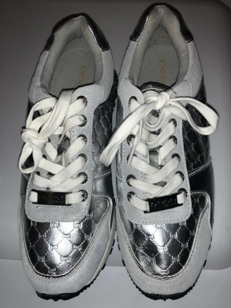 Bebe Sport Sneakers Womens US 10 New W/out Box Silver HTF
