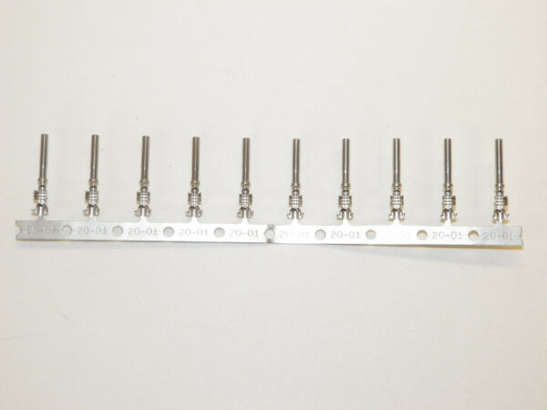 5 Deutsch #20 STAMPED 1062-20-0122 Terminals Female Sockets 18-20-22 ga wire