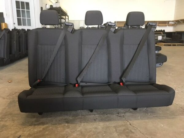Ford Transit OEM Seat; Charcoal CLOTH; 55