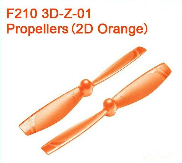 1Pair Walkera F210 3D Edition Racing Drone F210 3D-Z-01 Propeller CW CCW New