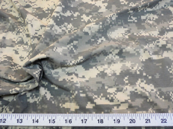Fabric Polyester Spandex 4 way stretch Digital Desert Camouflage Microban LY919