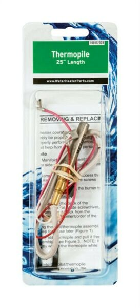Reliance 100112328 Natural Gas Water Heater Thermopile Assembly $22.52