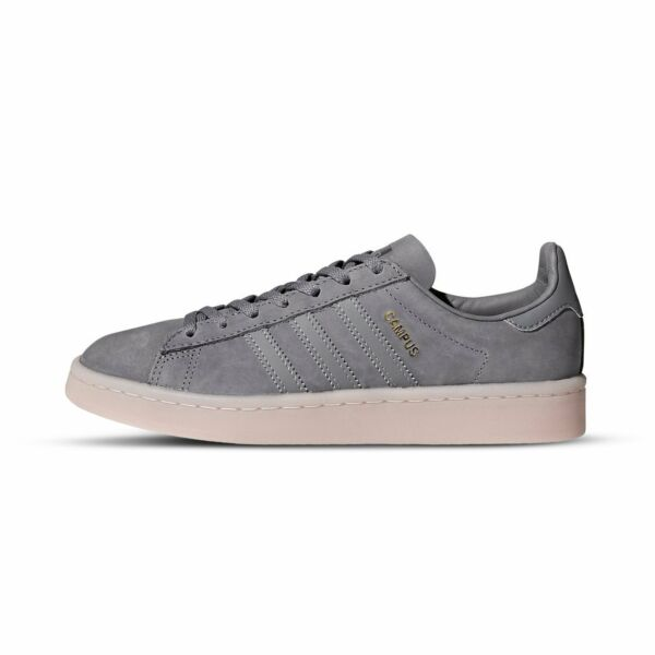 [BY9838] Womens Adidas Campus W Sneaker - Gray Ice Pink