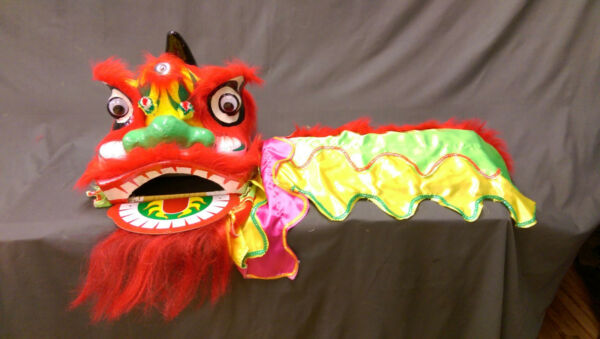 Chinese Lion Dance Costume for two children $54.00