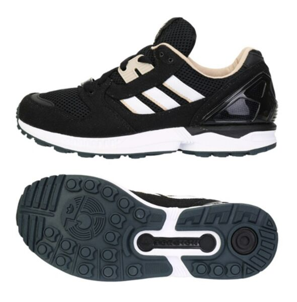 Adidas Women Originals ZX 8000 Training Shoes Running Black Yoga Sneakers B24859