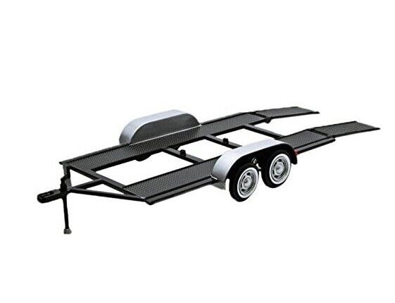 Trailer Car Carrier Motormax 76001 1 24 Scale Diecast Model Toy Car $24.95