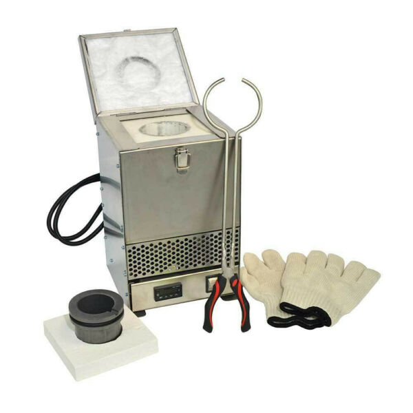 Electric Furnace Melting Pot for Gold Silver Jewelry Metal Aluminum $499.99