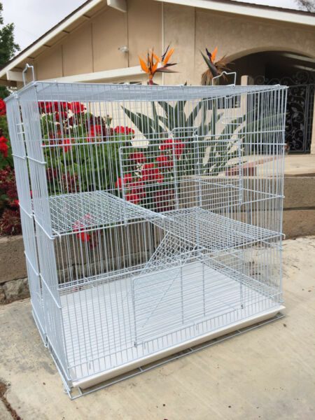 Small Animal Sugar Glider Guinea Pig Ferret Rat Mice Syrian Hamster Cage - 646