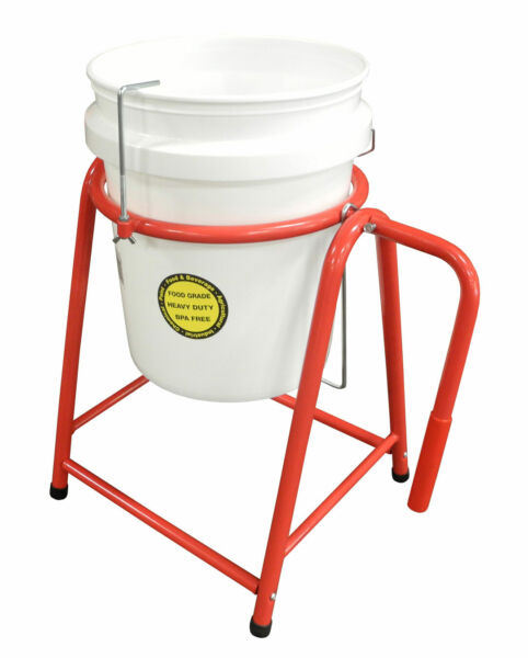 Redline Manual Paint Bucket Pail Holder Tipping Pour Tilt Stand