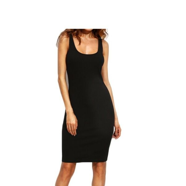 Ladies Summer Style Fitness Women Sexy Bodycon Knee Length Dresses $14.50