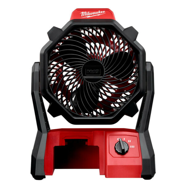 Milwaukee M18 Portable Jobsite Fan w AC Adapter (Tool Only) 0886-20 New