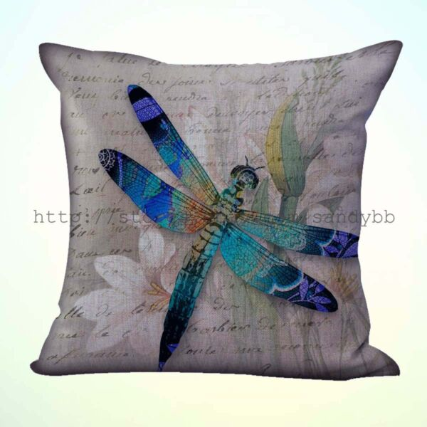 slipcovers for throw pillows dragonfly cushion cover $12.95