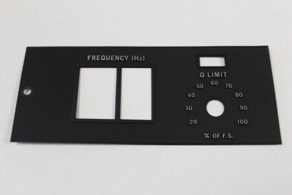 Agilent 04342-1310 Panel Black frequency Dial