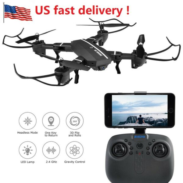 USA Foldable GPS Quadcopter 8807W Wifi FPV 6-Axis RC Aircraft Drone 0.3MP Camera