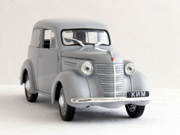 KIM 10 50 Gray First Soviet Small Car Car USSR WWII 1940 Year 1 43 Scale Model $15.27