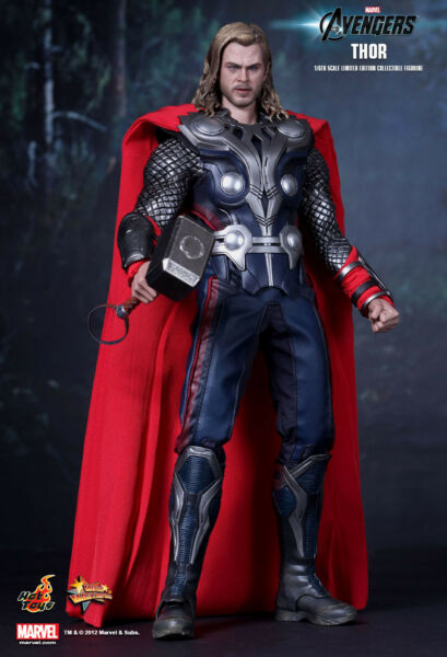 HOT TOYS 1/6 MARVEL AVENGERS MMS175 THOR MOVIE MASTERPIECE ACTION FIGURE