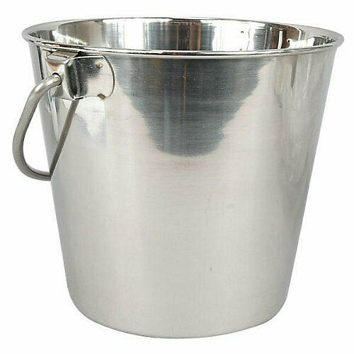 Leather Brothers Stainless Steel Bucket Pail - 1 Quart