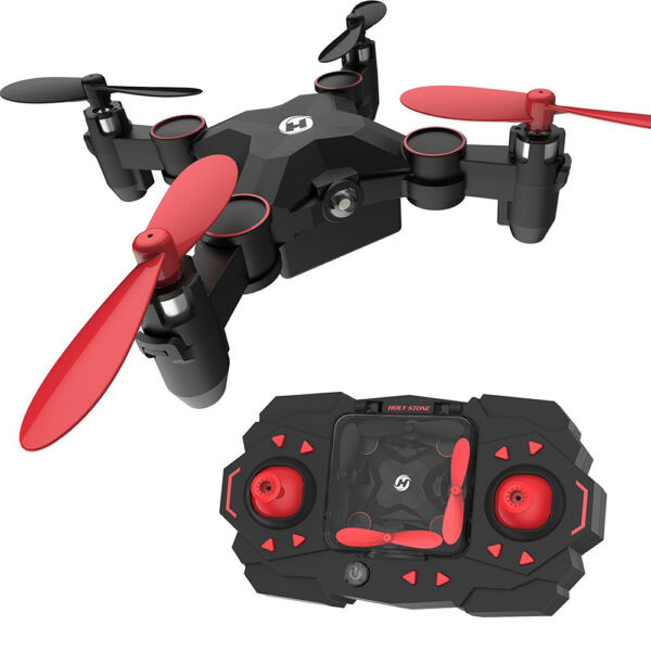 Holy Stone - HS190 Nano Foldable RC Drone RTF Remote Small Helicopter Kids Toys