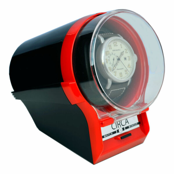Circa Single Automatic Watch Winder + 4 Settings Bi-Directional Feature