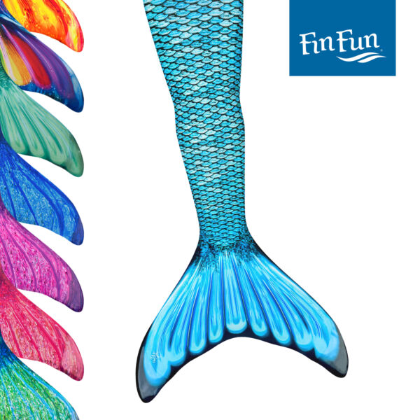 Durable  Fin Fun Adult Size Mermaid Tail Skins Swimming Swimmable-No Monofin $44.95
