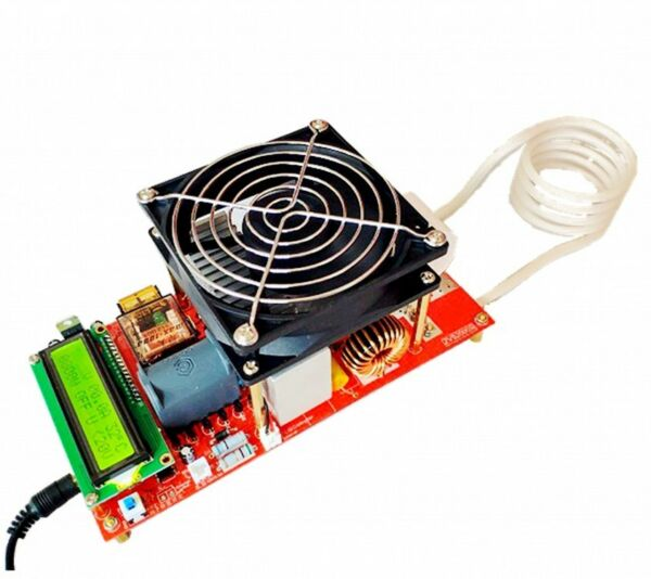 New ZVS 2000W High Voltage Induction Heater Module Flyback Driver Heating Board