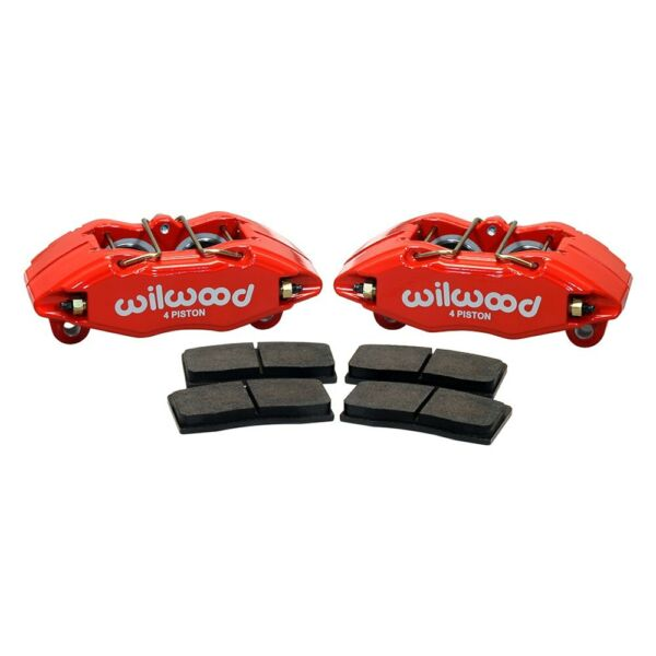 For Honda Civic 1990-2005 Wilwood 140-13029-R Forged DynaPro Front Caliper Kit