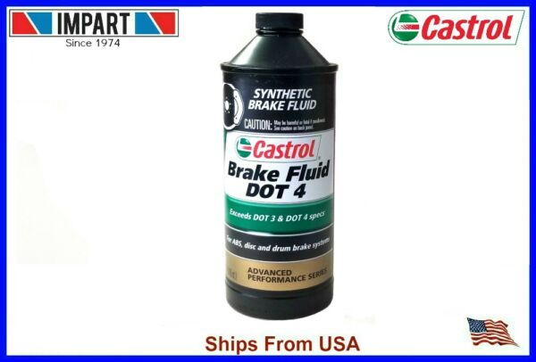 Castrol GT LMA Brake Fluid DOT 4 (1) 32oz. Bottle Quart