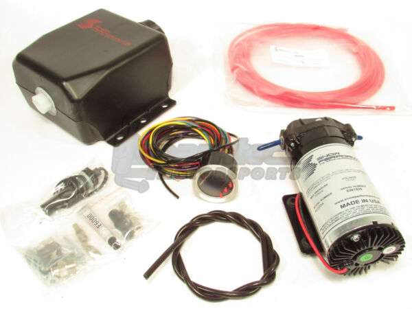 Snow Stage 2.5 Boost Cooler Water-Methanol Injection Kit Forced Induction Cars