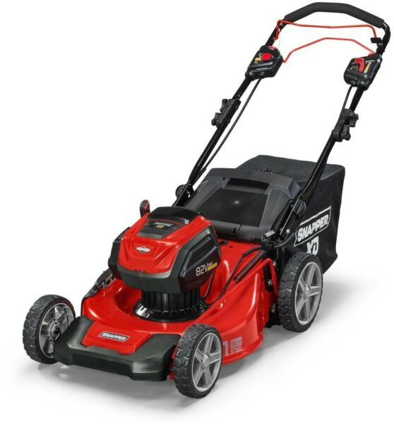 Snapper 21 in. 82-V Power Self Propelled Walk Behind Lawn Mower Single Lever New