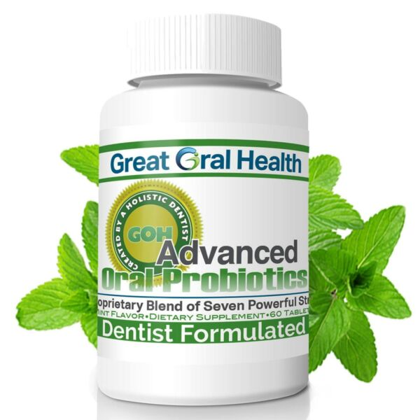Genuine Oral Probiotics–Sold Direct from GREAT ORAL HEALTH–BLIS K12 M18