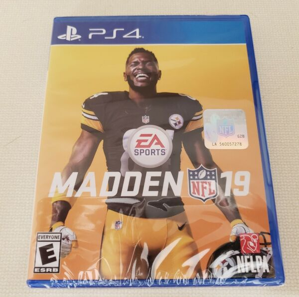 Madden NFL 19 (PlayStation 4, Ps4) Brand New factory sealed.