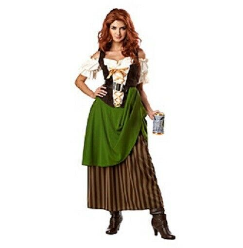 Beer Tavern Maiden Oktoberfest Pirate Beer Wench California Costumes Large 10 12 $28.98
